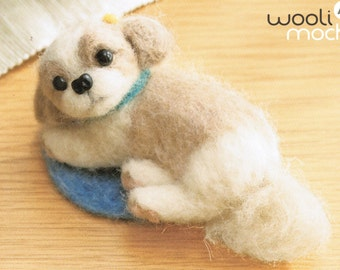 Miniature ShihTzu Needle Felting Kit
