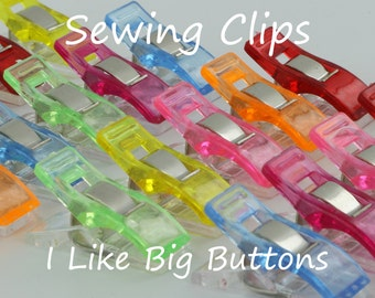 Mini Sewing Clips/Quilting Clips/Binding Clips/Craft/Knitting/Crocheting Fabric Plastic Clips