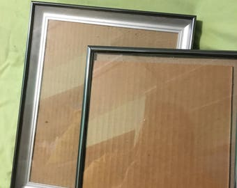 Pair of 8 x 10 picture frames