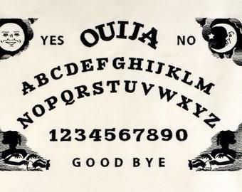 Ouija board 6x10 machine embroidery design