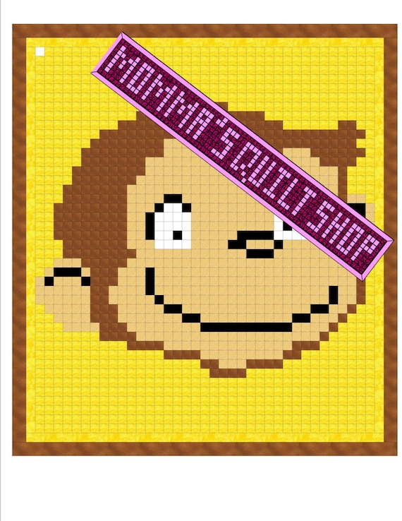 Pdf Download Curious George Monkey Full Size Quilt Pattern
