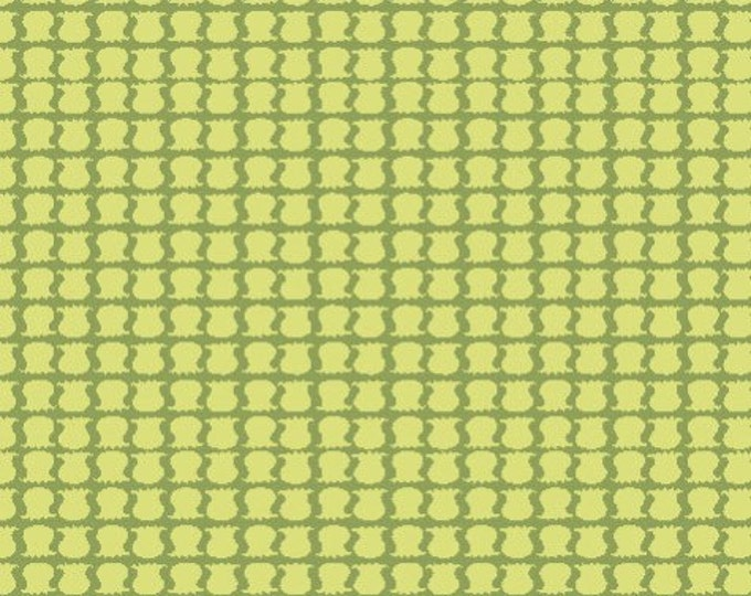 Organic Cotton Fabric - Monaluna Meadow Little Lillies