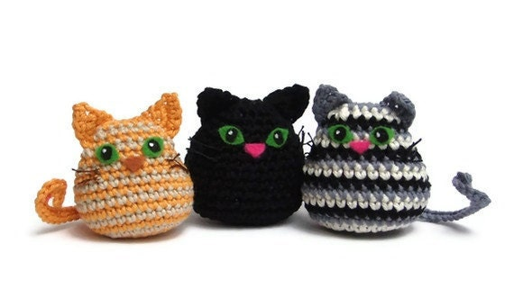 Easy Amigurumi Pdf : Cat crochet pattern pdf quick and easy amigurumi cat crochet