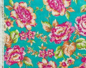 Turquoise floral Jenny Eliza Jennifer Paganelli FQ or more