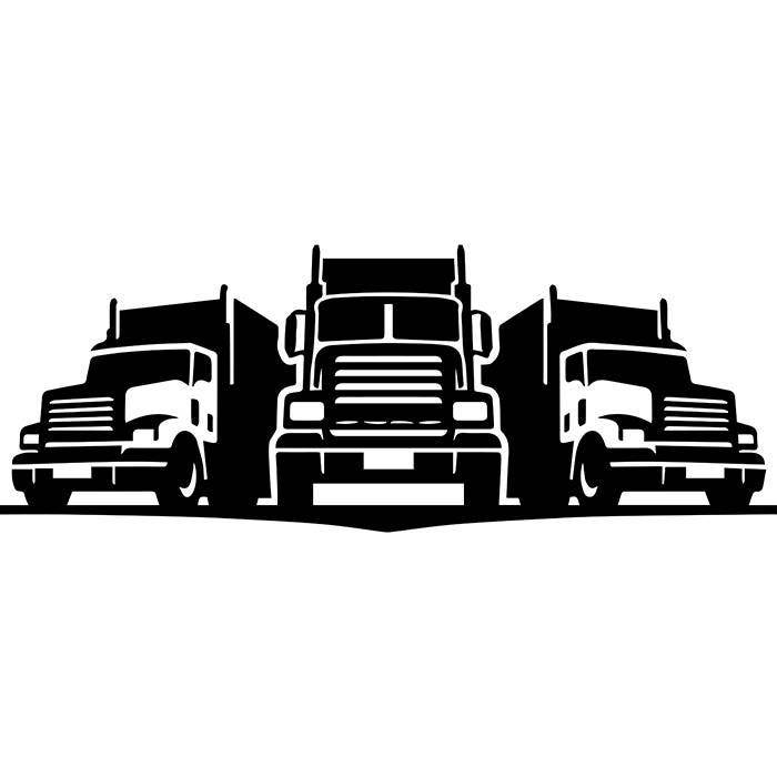 Favorite Trucking Logo #6 Truck Driver Trucker Big Rigg 18 Wheeler Semi  UQ27