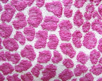 CHENILLE in raspberry woven multipurpose fabric