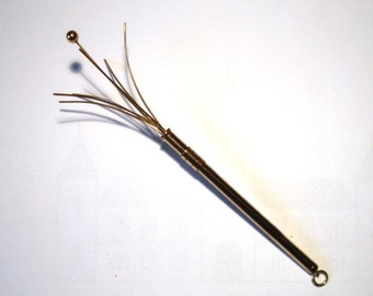 Swizzle Stick Rolled Gold