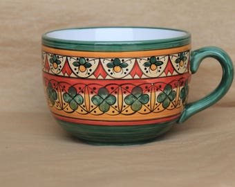 Soup Mug in Sun Pattern