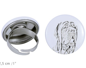 Ring with a dog - Neapolitan Mastiff