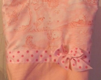 Sale   Nursery Rhyme Calico Toile BAby Children BAG Purse Tote BAG or Diaperbag