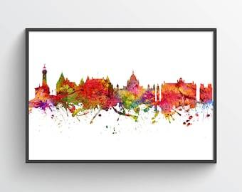 Victoria Poster, Victoria Skyline, Victoria Cityscape, Victoria Print, Victoria Art, Victoria Decor, Home Decor, Gift Idea, CABCVI08P