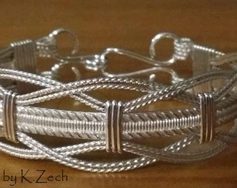 Sterling Silver wire wrapped wire jewelry