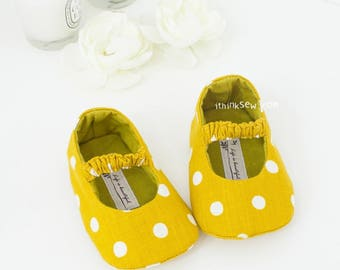 Juliet Baby Mary Janes PDF Sewing Pattern (#80)