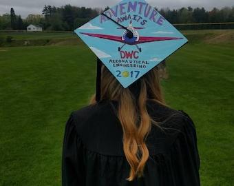 Custom Graduation Cap Cover