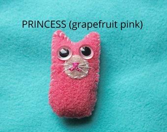 Tiny Pink Kitten