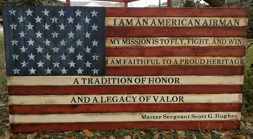 Airmans creed american flag altavistaventures Images