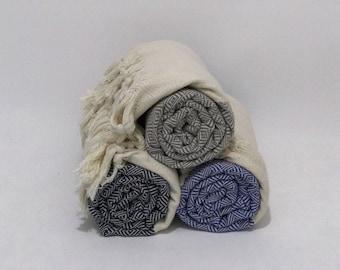 Diamond peshtemal, beach towel, Turkish Bath, pool towel, spa towel, swim towel, turkish cotton towel, hammam towel, surf