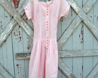 Glinda - vintage 1950s dress  XS S