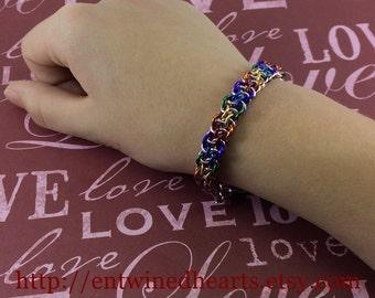 Chainmaille Solidarity Bracelet