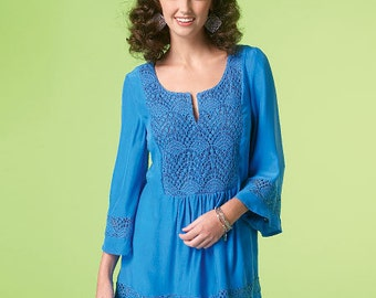 McCall's Pattern M7128 Misses' Tops and Tunic