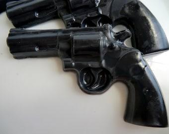 10 Police Gun Soap - detective birthday favor