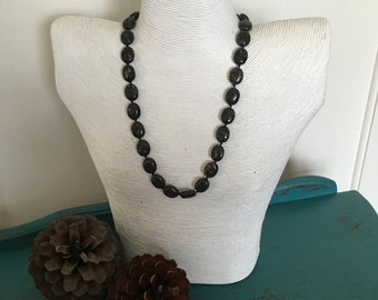 Stone Knotted Necklace