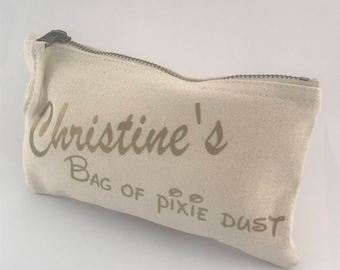 Personalised Make Up Pixie Dust Bag!