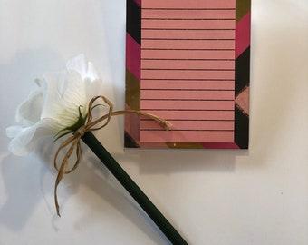 Sticky Note Holder/List Pad Holder/ready to ship