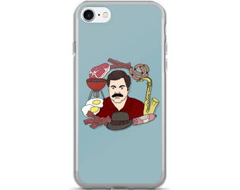 If Any Of You Need Anything At All Too Bad Ron Swanson Cross