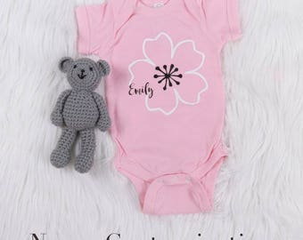 Personalized Cherry Blossom One-Piece