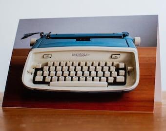 Vintage Typewriter Notecard: The Royal Aristocrat (set of five cards)