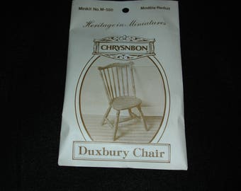 Miniature Chrysnbon Furniture Kit - Duxbury Chair