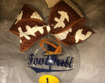 Christmas ornament, Football ornament, Football players, Football moms, Football gifts