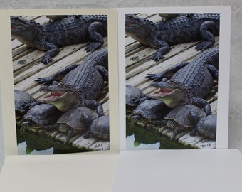 Strange Friends Blank Card, 5 X 6.5 with matching envalopes,