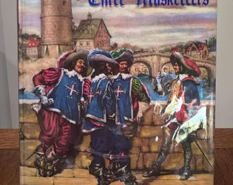 The Three Musketeers - Alexander Dumas - Illustrated Junior Library - Children's Books, France, Aramis, D'Artagnan, Athos, Porthos