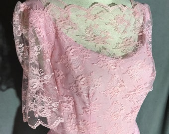 Vintage 60s Sue Brett Prom Dress New With Tag