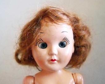 Vintage Doll  1940 -1950