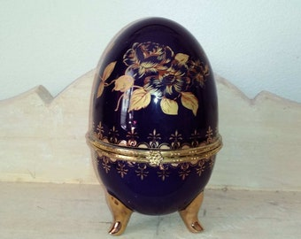 Jewelry box, Faberge Easter egg - Faberge style egg style egg, Easter egg jewelry box