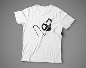 Apple Music, T-shirt with individual design, 100% cotton, for man