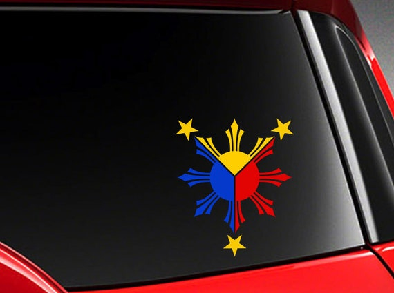 Filipino vinyl car decal sticker h w philippine car sticker decals philippines