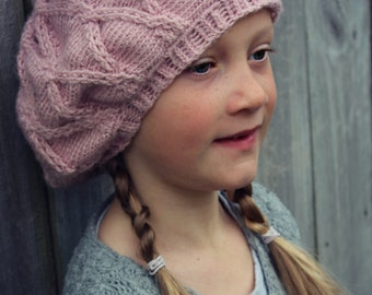 Download Now - CROCHET PATTERN Diamond Slouch Beanie - 4 Years to Adult - Pattern PDF