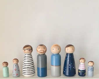 Custom Peg Family