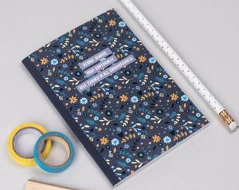 Prayer Journal | A6 mini notebook| Floral notebook