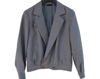 Vintage Mancel Vouillamoz women jacket 100% wool