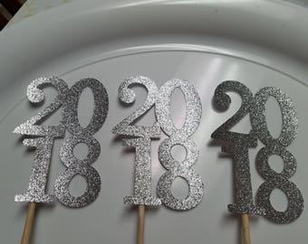Graduation Centerpiece , graduation centerpiece 2018, Graduation party decorations, 2018 stick, 2018