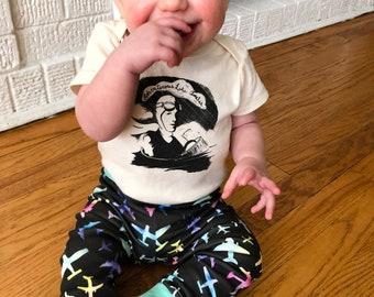 Aviator Toddler Leggings // Organic Toddler Leggings // Organic Kids Leggings // Plane Leggings