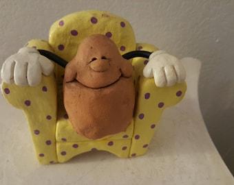 Pottery Couch Potato