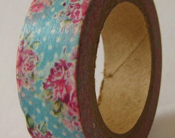 """SALE """"Shabby Chic"""" Washi Tape  15mm X 10 meters"""