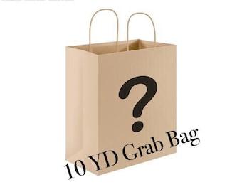 10 YD Surprise Ribbon Remnant Grab Bag