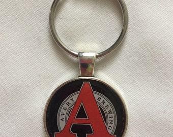 Bottle cap key chain